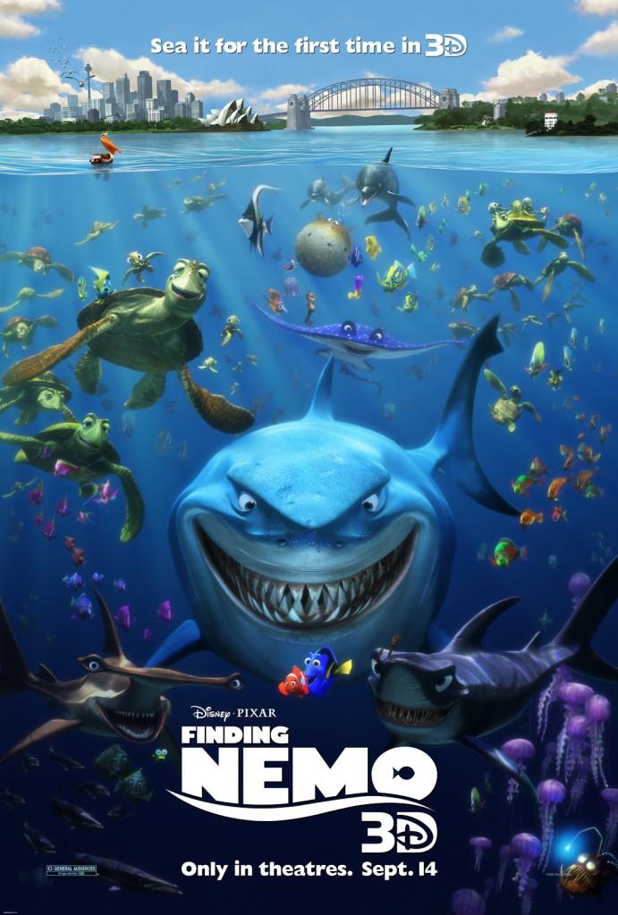 Poster Finding Nemo 3D
