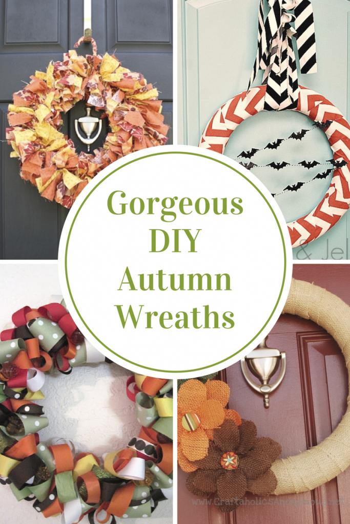 Gorgeous DIY Autumn Wreaths