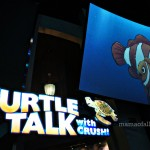 Turtle Talk With Crush at Disney California Adventure #DisneyInHomeBloggers