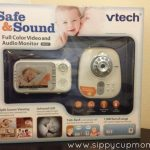 Baby Safety Month: Vtech Safe & Sound Full Color Video & Audio Baby Monitor Review