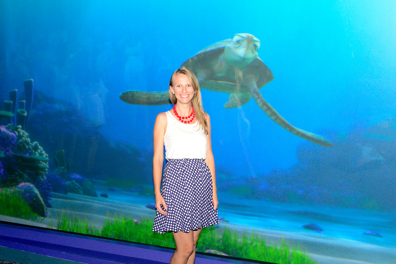 Ashley at Turtle Talk With Crush