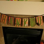 "Make It Pretty Wednesdays: ""Thankful"" Banner Decoration"