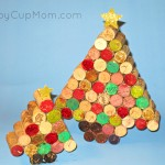 Make It Pretty Wednesdays: Cork Christmas Trees!