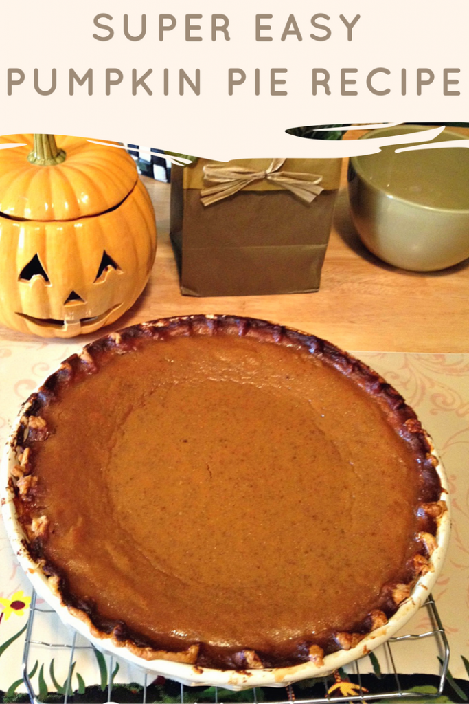 Super Easy Pumpkin Pie Recipe