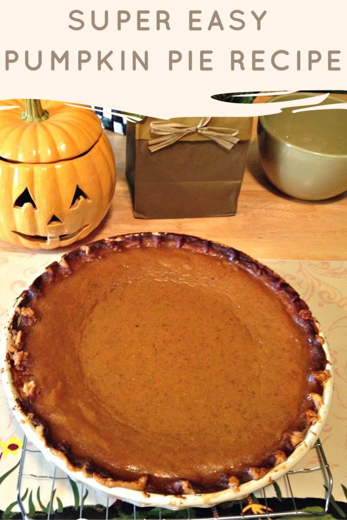 Super Easy Pumpkin Pie Recipe