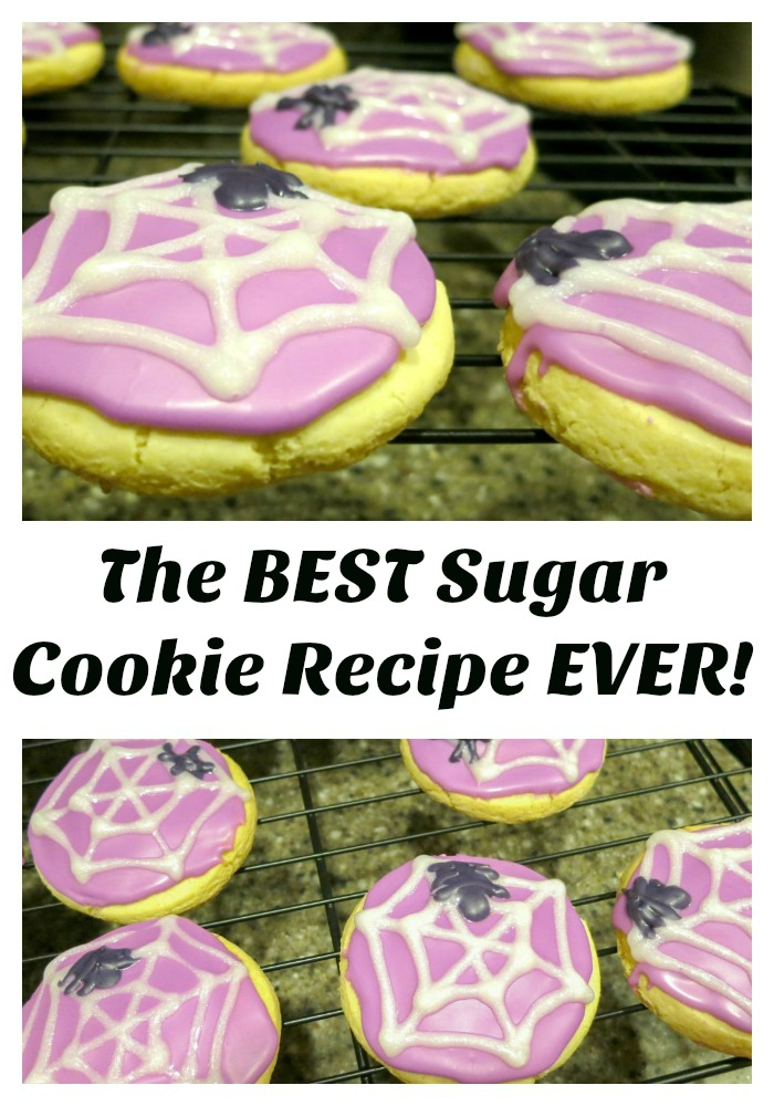 You'll want to pin this for later! It's the recipe for the best sugar cookies ever!