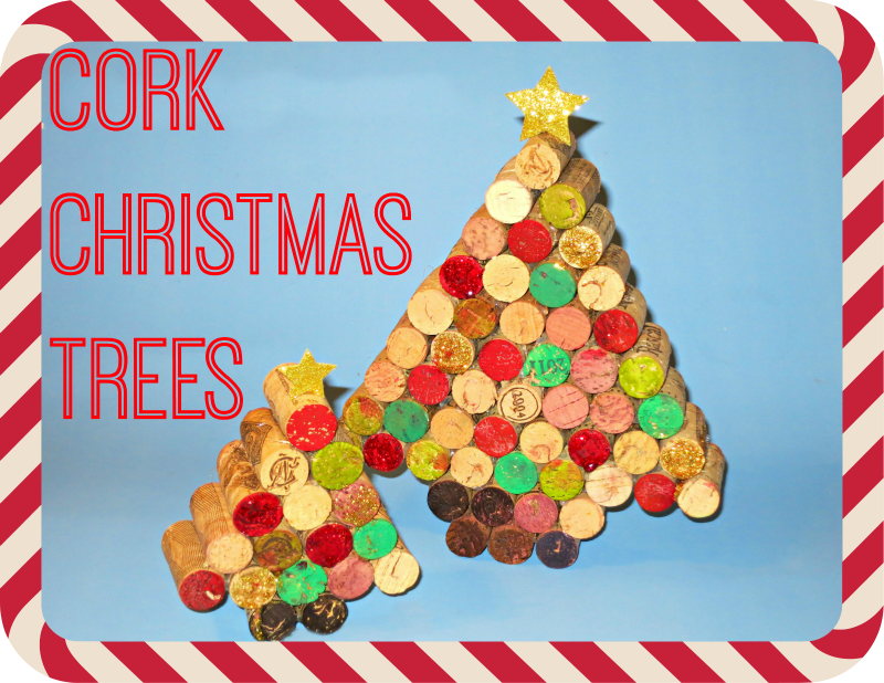 DIY Cork Christmas Tree