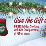 Spread the Cheer with a Free Chuck E. Cheese's Holiday Stocking!