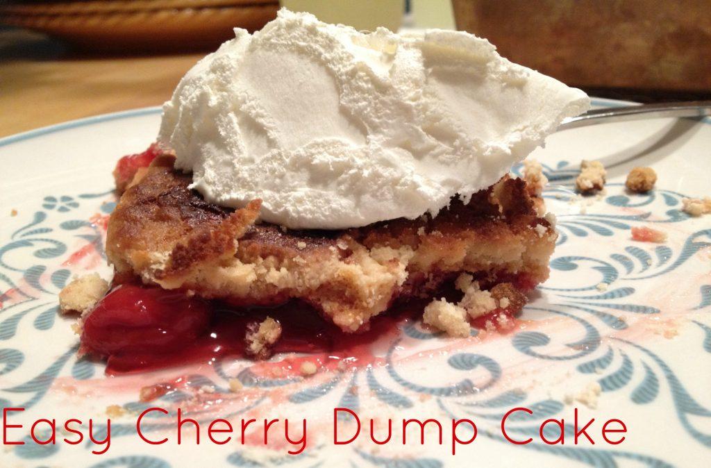 Easy Cherry Dump Cake