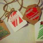 Make It Pretty Wednesdays: EASY & Cute Gift Tags!