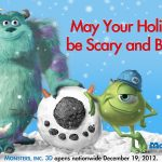 Happy Holidays from Monsters, Inc!