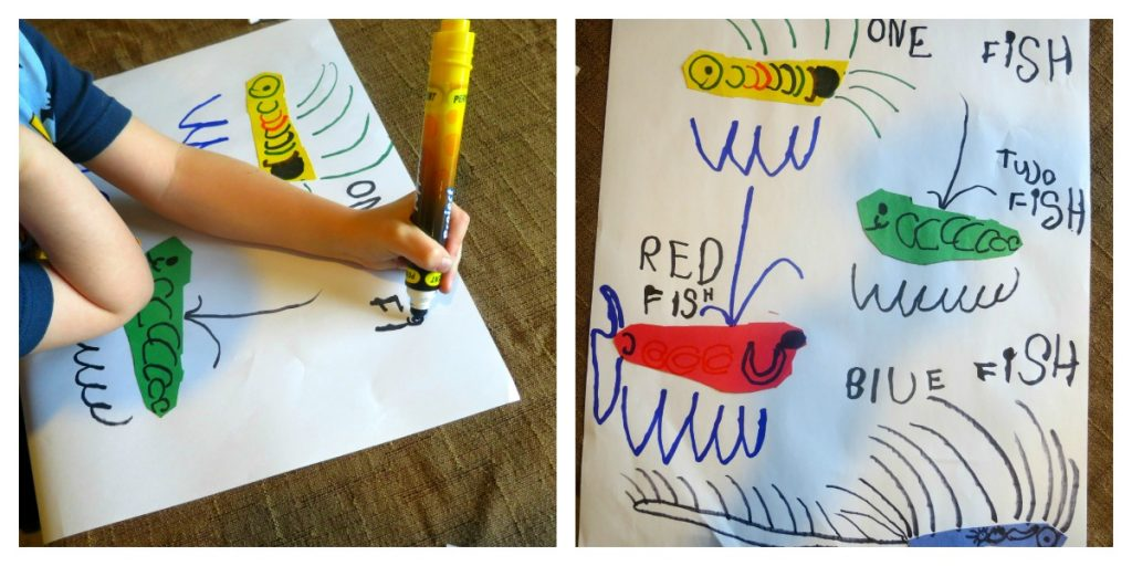 Dr Seuss Craft Writing Rhyme