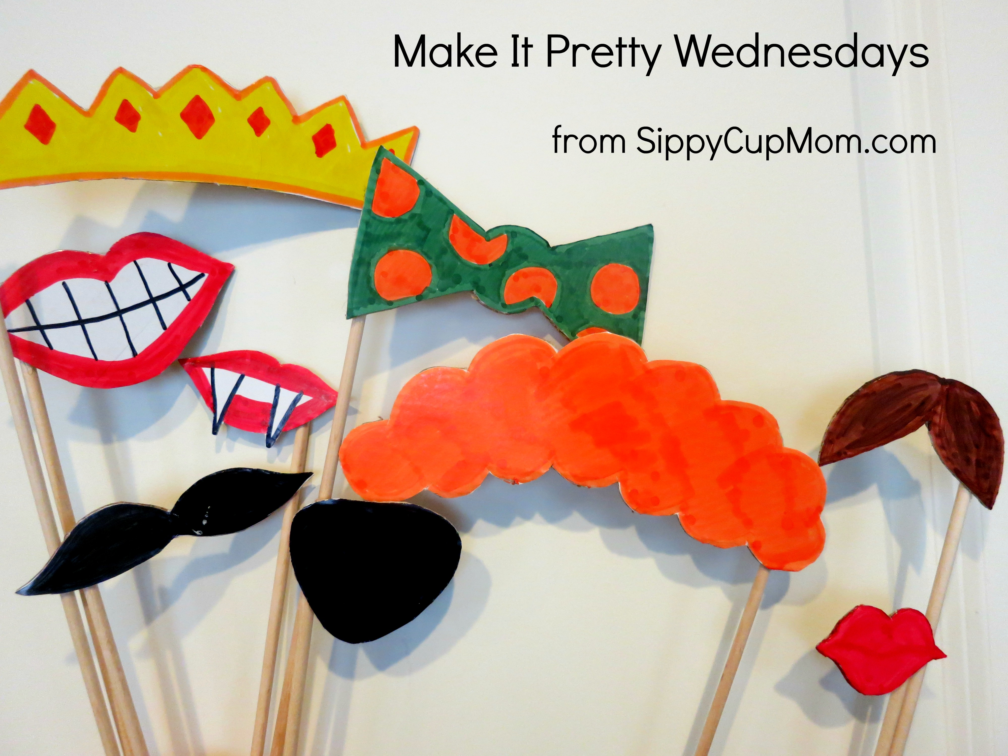 Make It Pretty Wednesdays: Photo Props! - Sippy Cup Mom