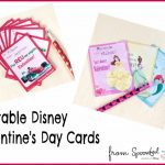 Last Minute Printable Disney Valentine's Day Cards
