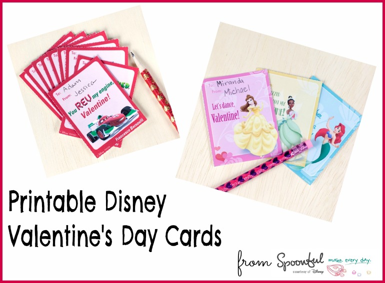 Last Minute Printable Disney Valentines Day Cards Sippy Cup Mom – Disney Valentine Cards Printable