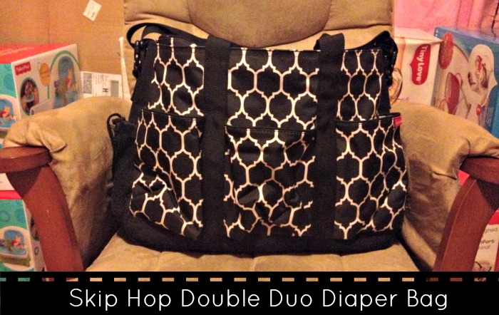 Skip Hop Double Duo Diaper Bag