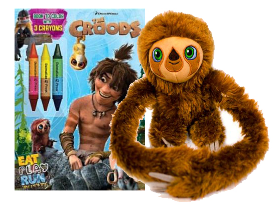 Croods Prize Pack