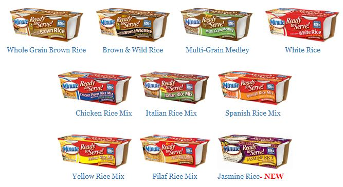 Minute Ready to Serve Rice #LoveEveryMinute Selections
