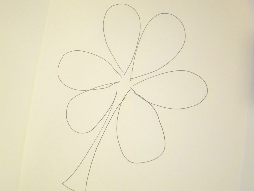 Shamrock Hand Drawn