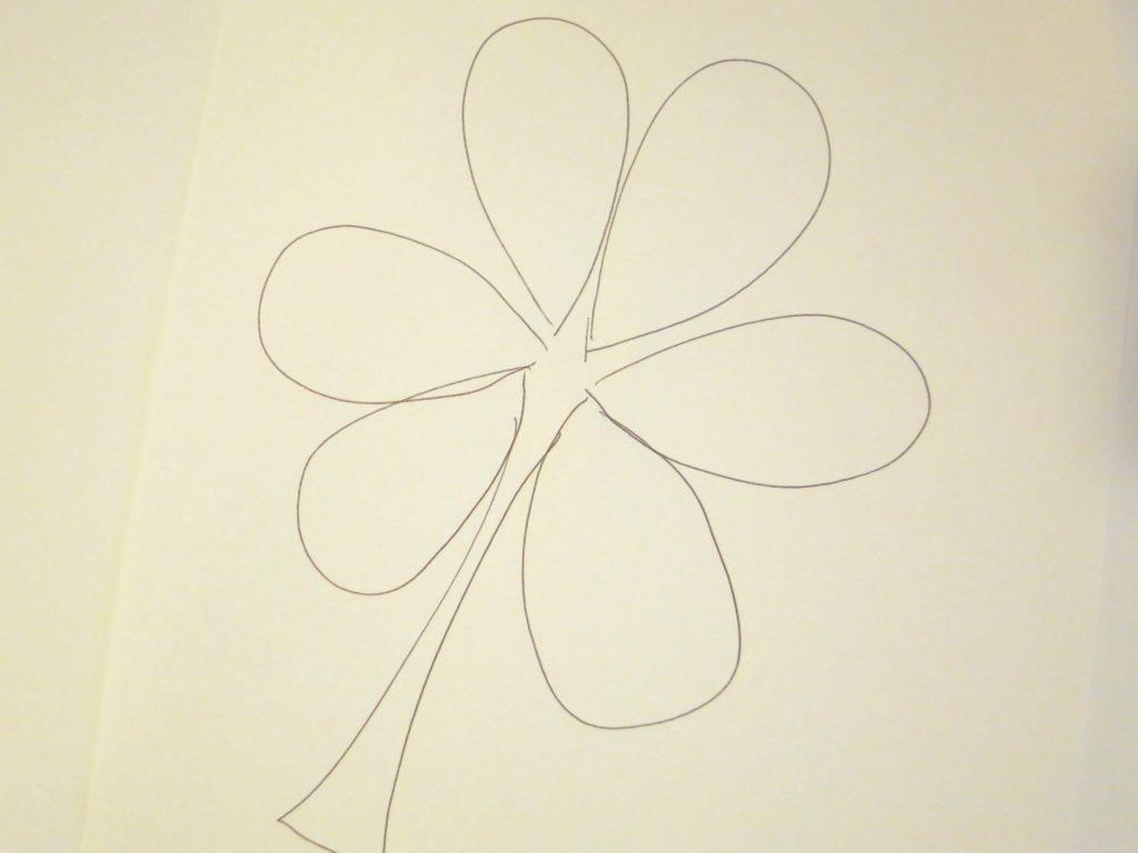 Shamrock Hand Drawn