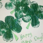 St. Patrick's Day Shamrock Preschool Craft