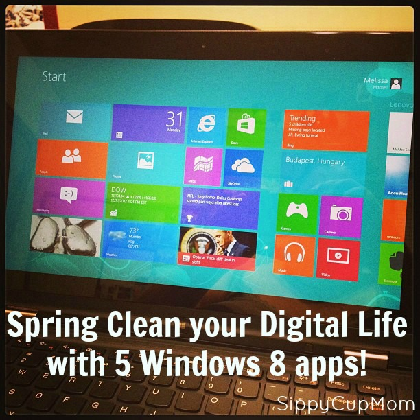 Spring Clean your Digital Life with these five Windows 8 apps!
