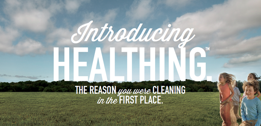 Healthing with Lysol