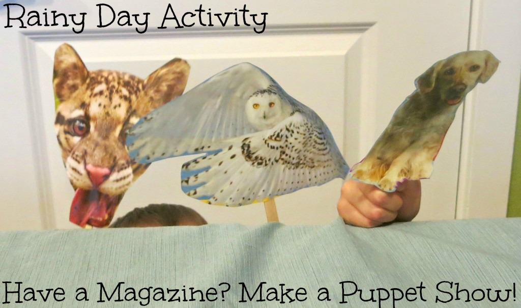 Magazine Puppet Show for Kids