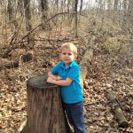 Wordless Wednesday: My Son Speaks for the Trees