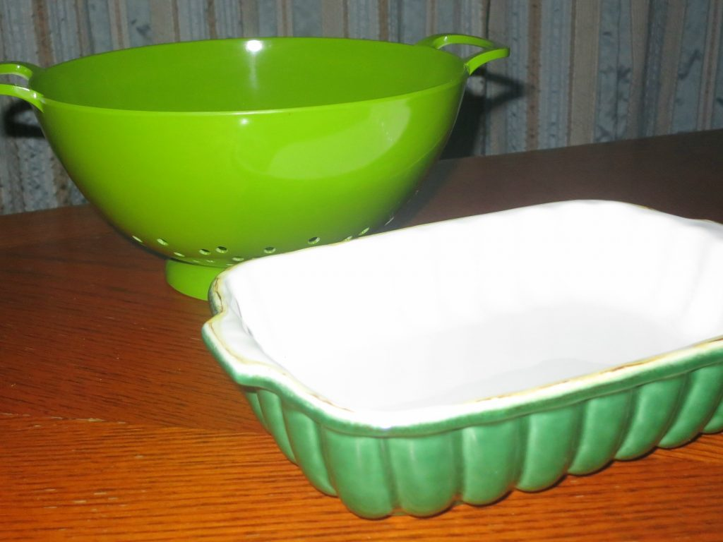 Creamette Colandar & baking dish
