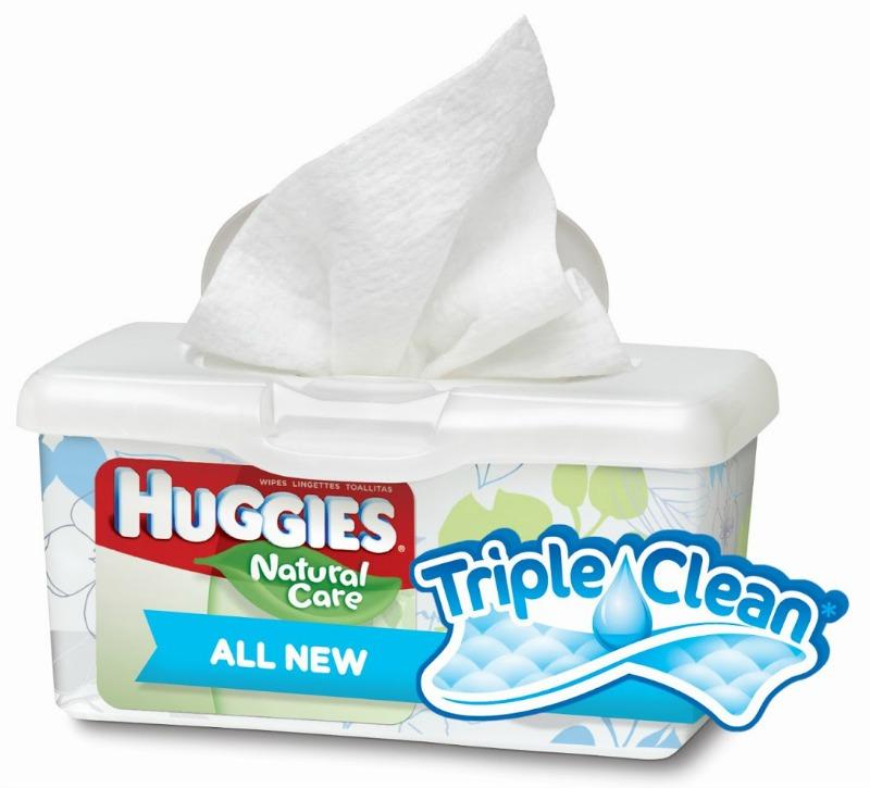 Huggies Triple Clean Wipes 2