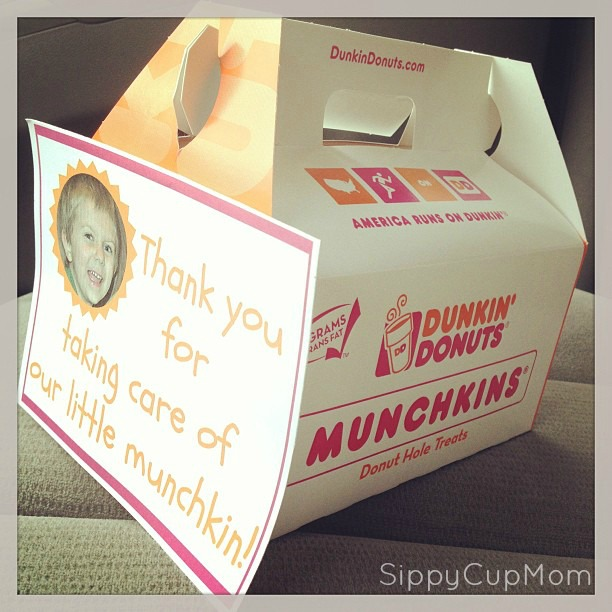 Thank a Teacher with Munchkin Donuts