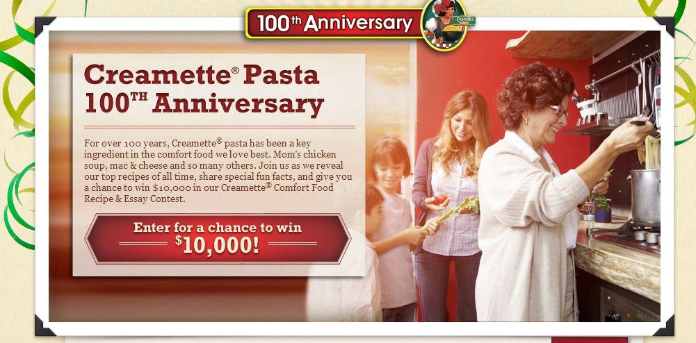 creamette anniversary