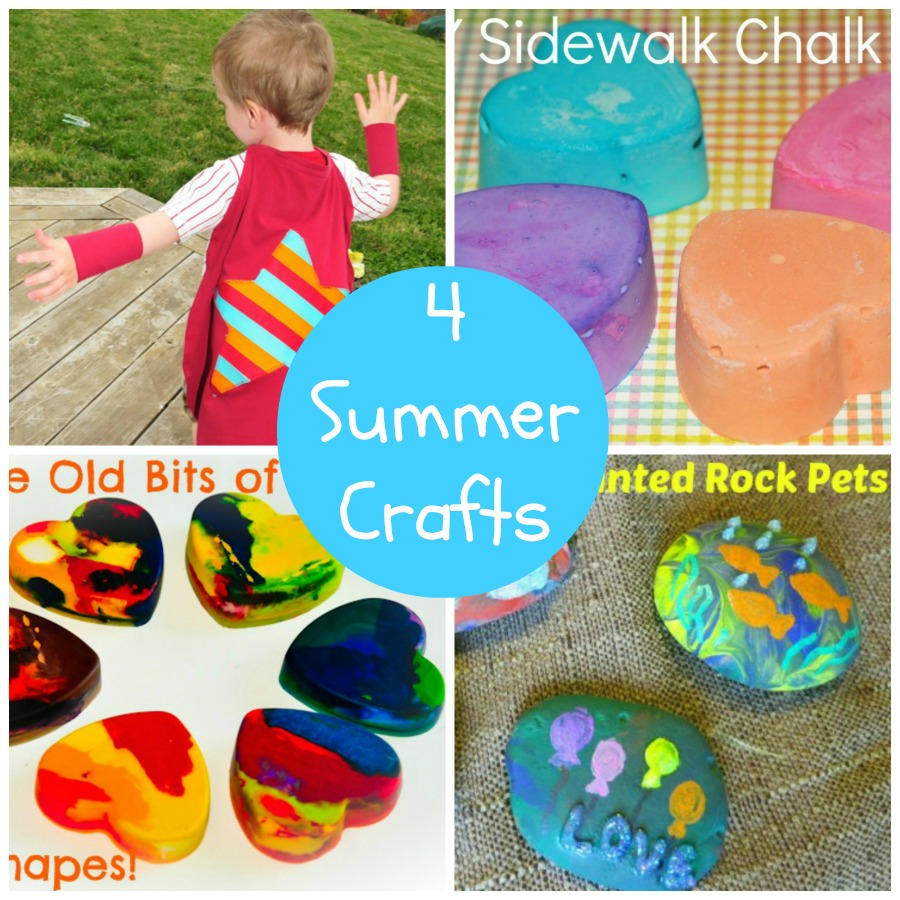 4 DIY Summer Crafts for Kids Sippy Cup Mom