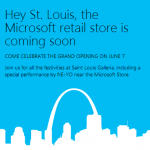 Ne-Yo Performs at the Microsoft Store Grand Opening in St. Louis!