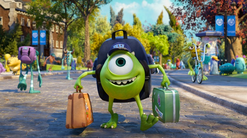 Mike Monsters University