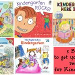 5 Books To Get Your Child Ready for Kindergarten!