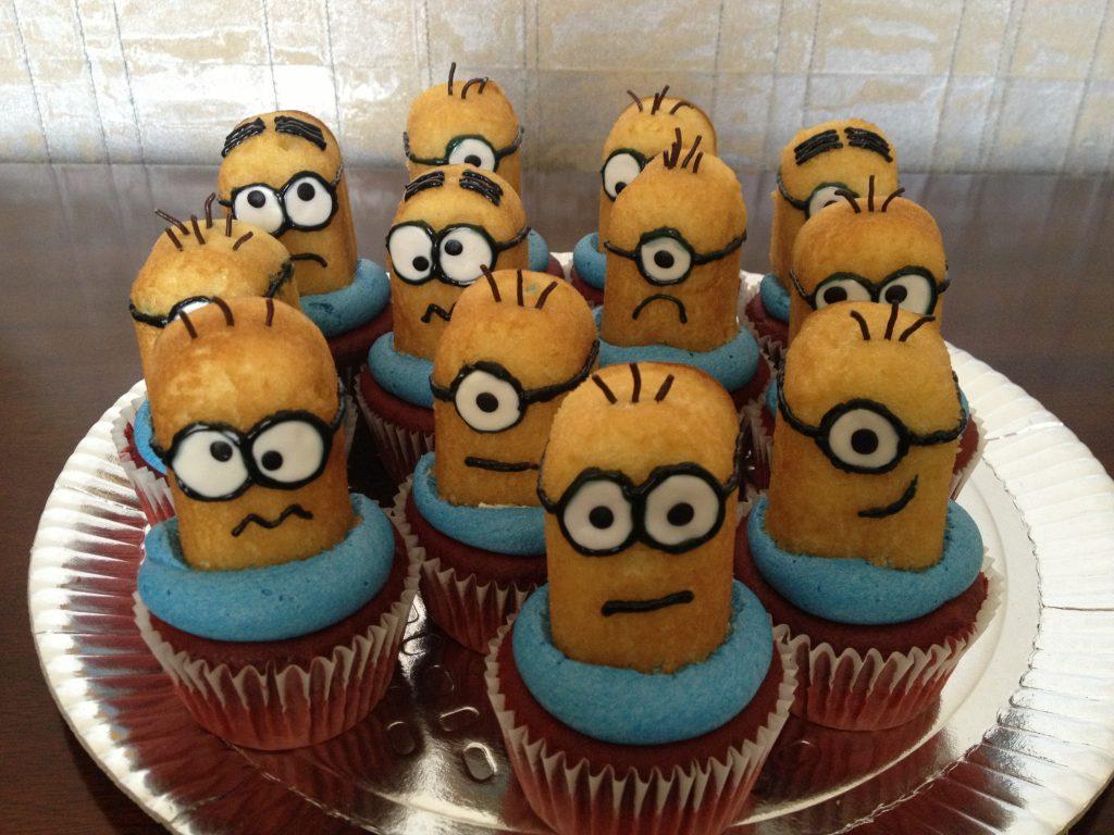 Despicable Me Cupcakes 3