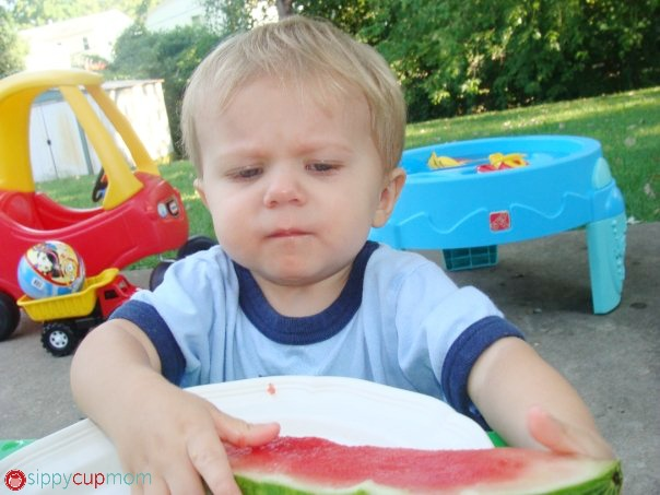 Hayden and Watermelon