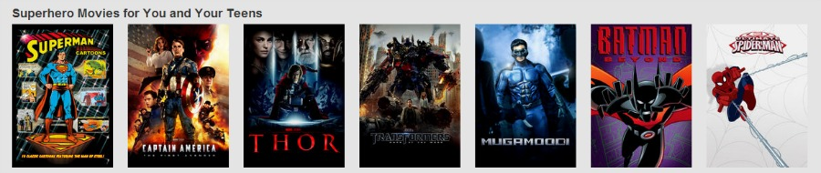 SuperHero Netflix