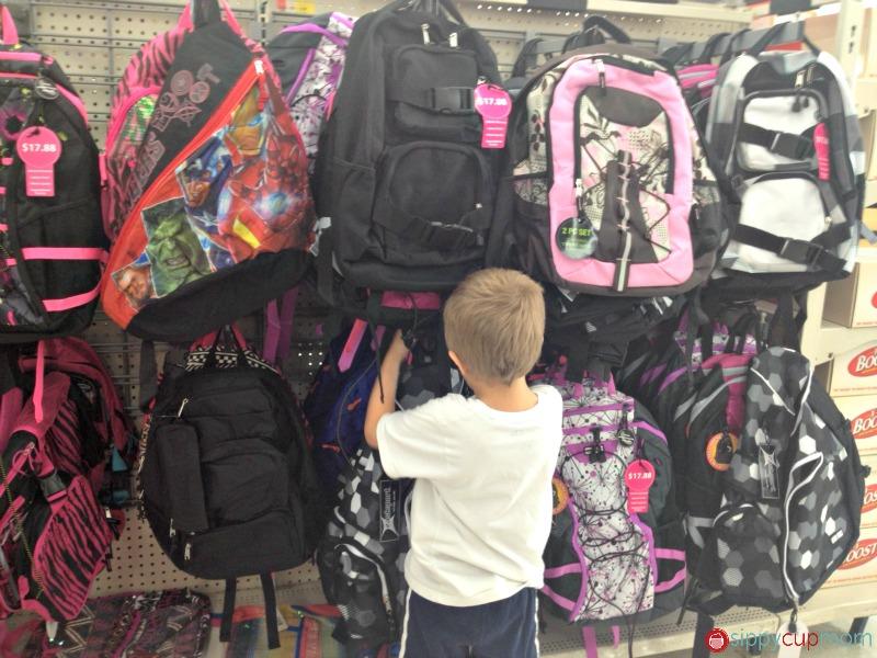 Shopping for BackPacks at Walmart #shop #bagitforward