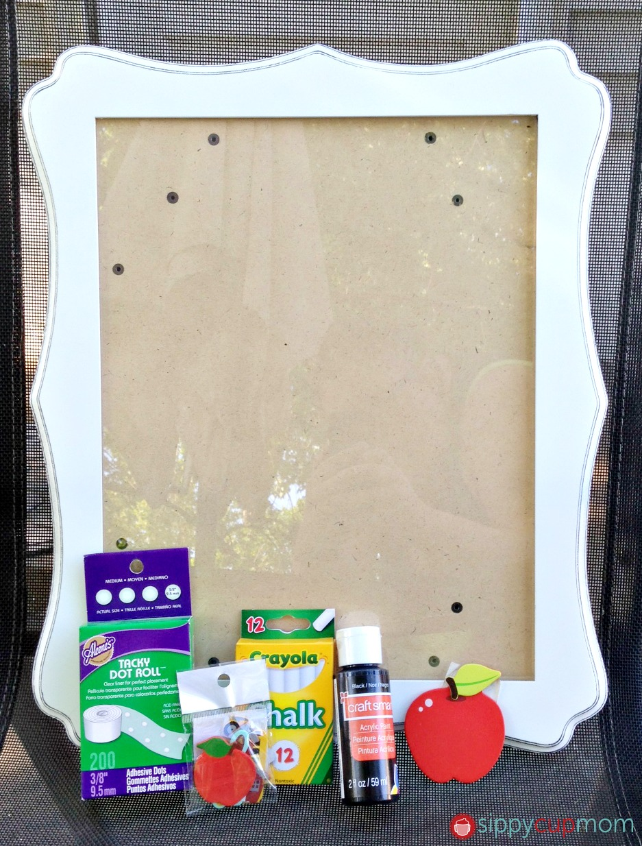 Back To School Craft - First Day of School Picture Frame