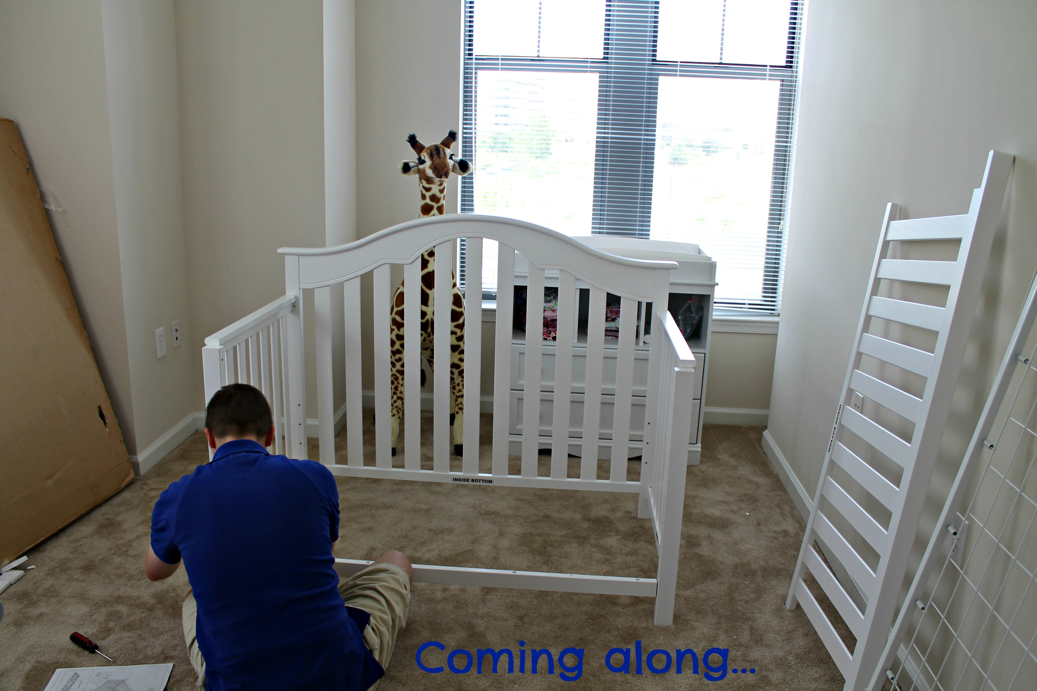 Finishing The Nursery With The Fisher Price Kingsport