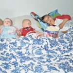 Family Movie Night in Our Serta Mattresses iComfort Directions