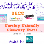 Naturally Nursing Breastfeeding Giveaway Event {$291 of Prizes}