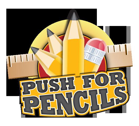 Push for Pencils Logo #shop