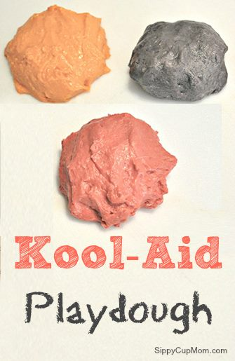 Homemade Kool-Aid Playdough