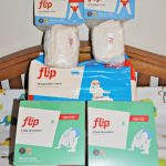 Cloth Diapering Twins with the Flip Hybrid Diaper System