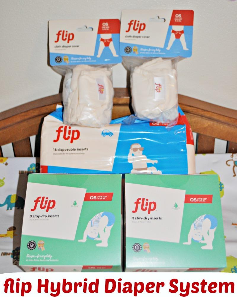 Flip Hybrid Diaper System