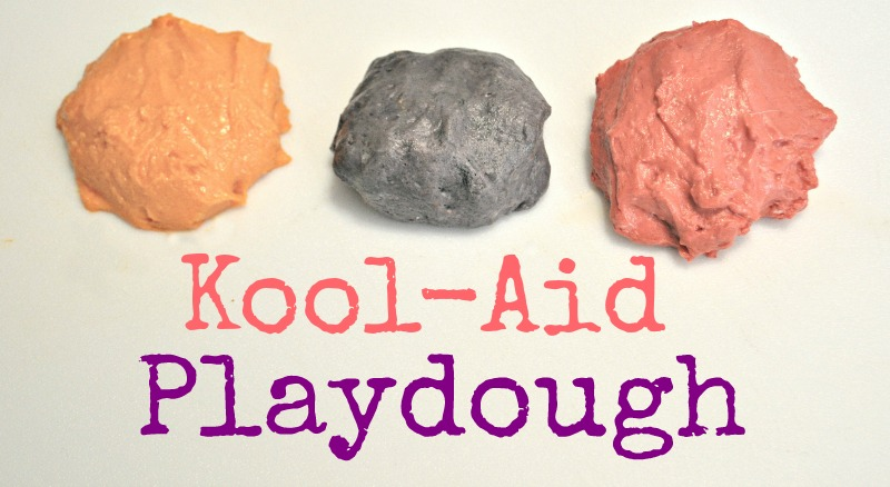 koolaid playdough
